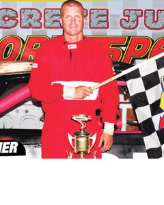 James Deese owns two first-place finishes this season at Kingsport Speedway.