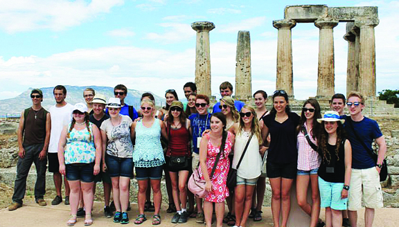 The East Tennessee Children's Choir performed three concerts in Greece during the past season, and auditions are scheduled for Aug. 18 to begin the group's 28th season.