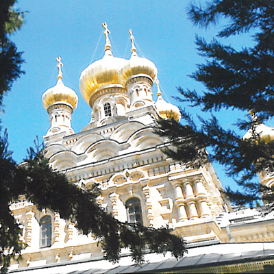 Contributed Photo  Saint Mary Magdalene's church resembles Russian temples because it was fashioned by Russian Czar Alexander III. Peoples considered it the most beautiful of all the churches he visited.