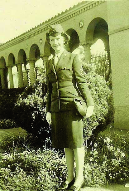 Once World War II broke out, Helen Fetzer was ready to serve her country. She served with the Women's Army Corps in Washington, D.C.